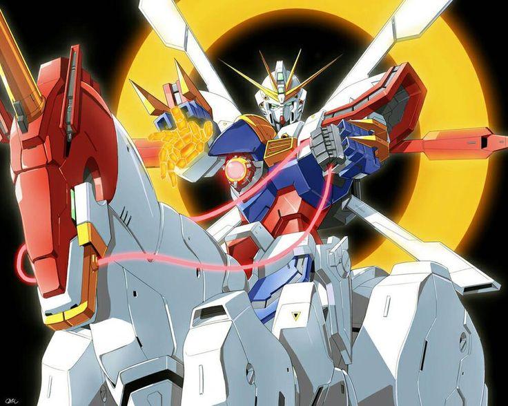 God Gundam  by Blase17