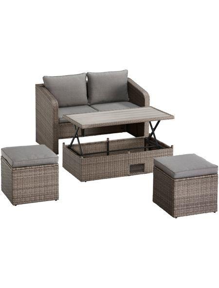 1000 ideen zu polyrattan auf pinterest polyrattan sofa bauhaus bochum und decking. Black Bedroom Furniture Sets. Home Design Ideas