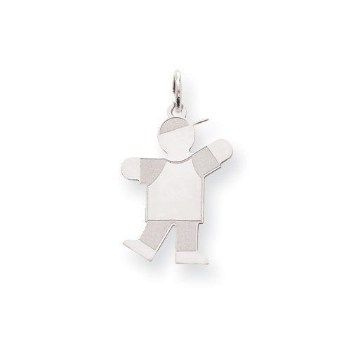 Sterling Silver Kid Charm Real Goldia Designer Perfect Jewelry Gift goldia. $21.63