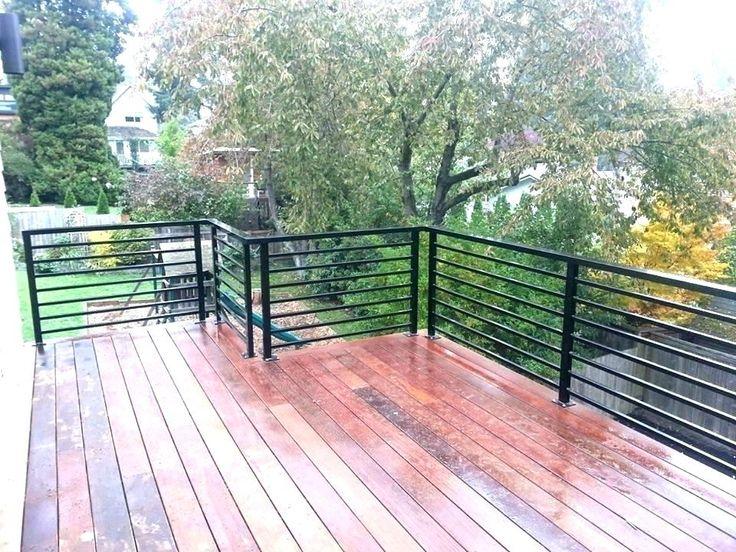 modern steel porch rail - Google Search | Railings outdoor ...