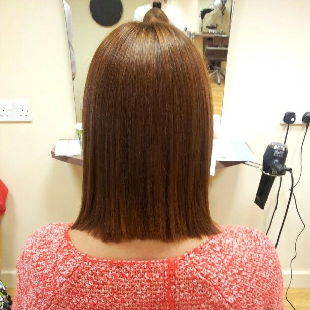 After #yuko #hair #straightening sleek and glossy #academyhairsalon