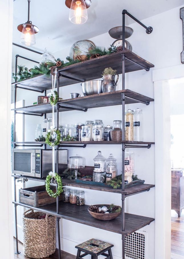 Give your pantry a makeover with this DIY shelving hack.