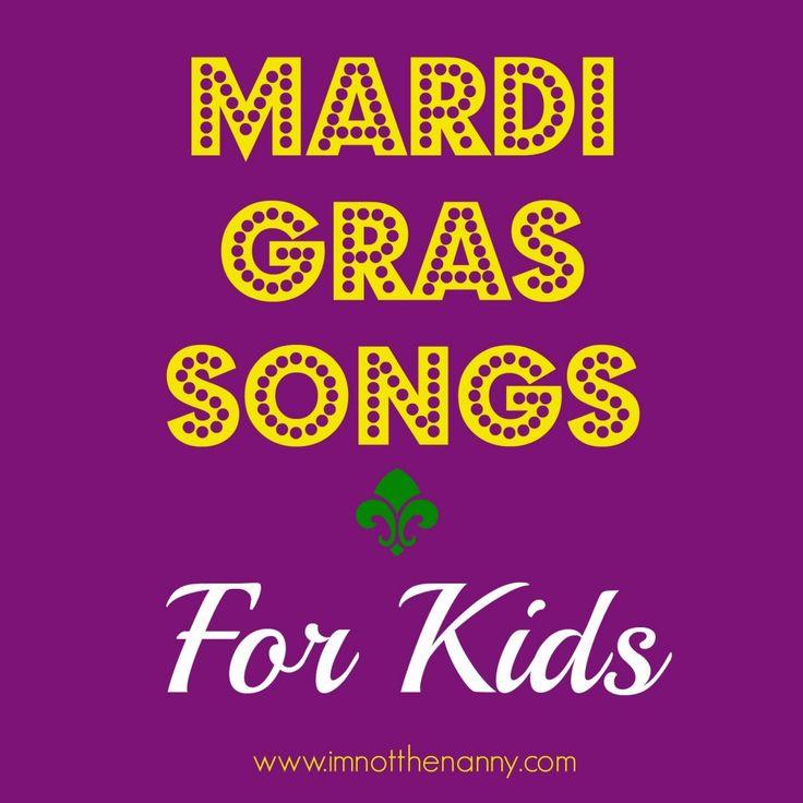 Mardi Gras Songs for Kids