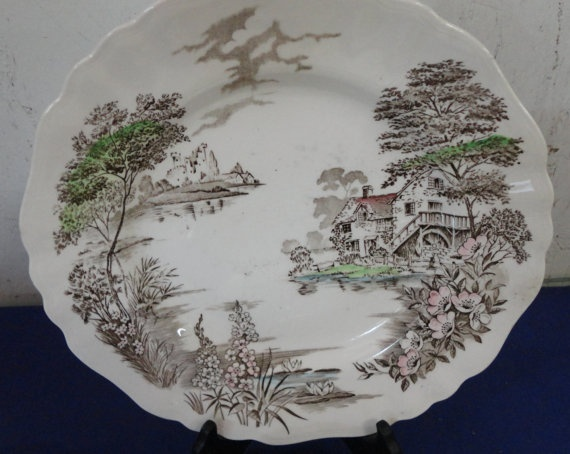 Partial Set Of English Staffordshire Olde Avon by tennesseehills, $60.00