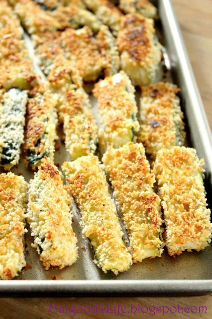 Eat Good 4 Life » Baked chunky zucchini fries. These are great with a tomato salsa or a alioli salsa as well. Much healthier than regular versions, #cleaneating #zucchini #appetizers