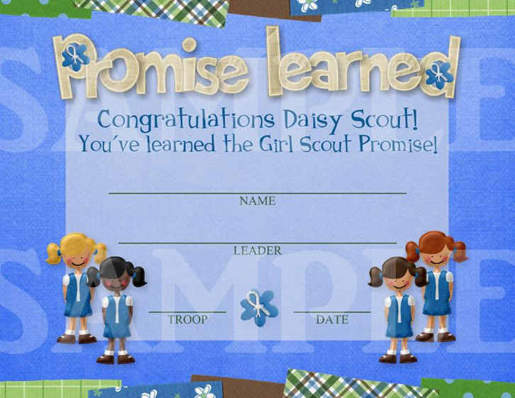 girl scout crafts for daisies | Girl Scouts Promise Learned Daisy by CapturedbyJessPrints on Etsy