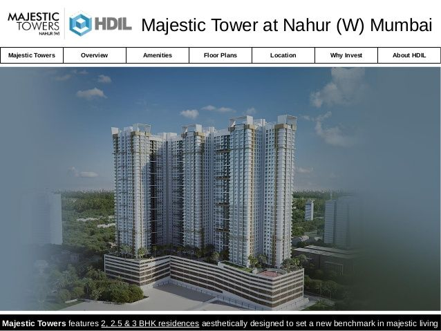Majestic Towers Nahur - Residential Flats for Sale in Mumbai
