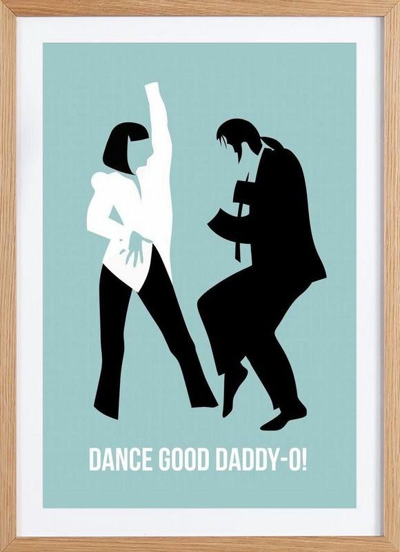 Dance Good Poster 1 - Naxart - Affiche premium encadrée