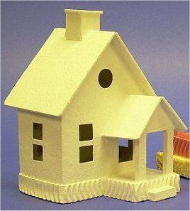 Building the Peach Cottage Beach House - Howard's How-To's, from Littleglitterhouses.com