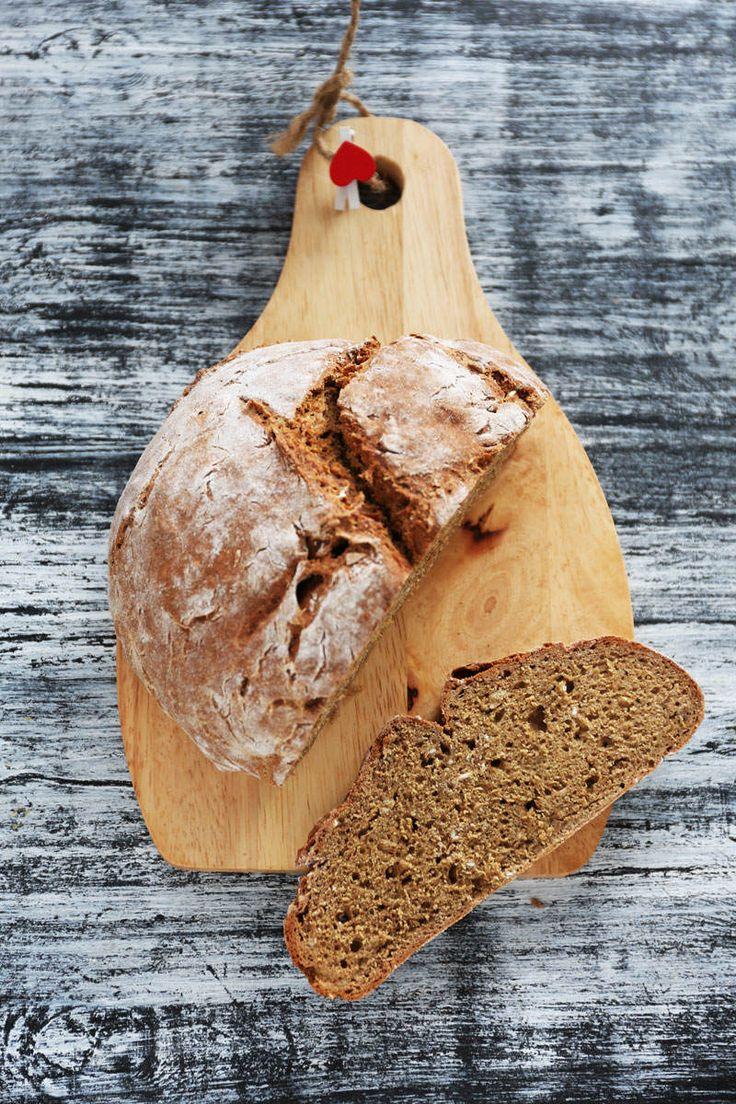 Żytni chleb sodowy * rye soda bread