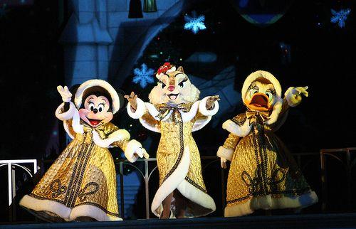 Minnie Mouse, Clarice, & Daisy Duck