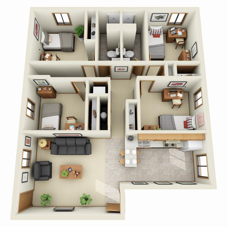 152 Best Images About 3D Plans On Pinterest