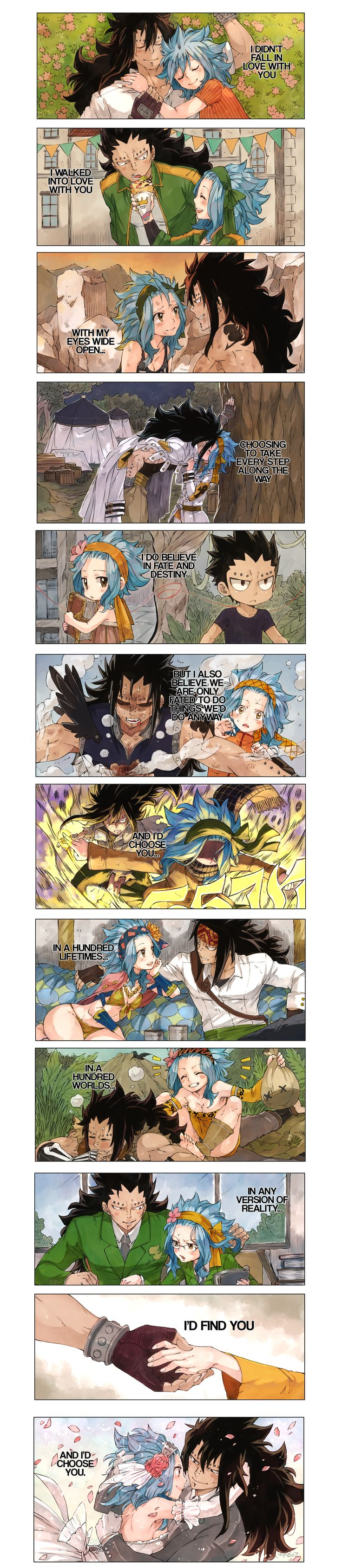 Gajeel and Levy, Love. <3<3<3<3