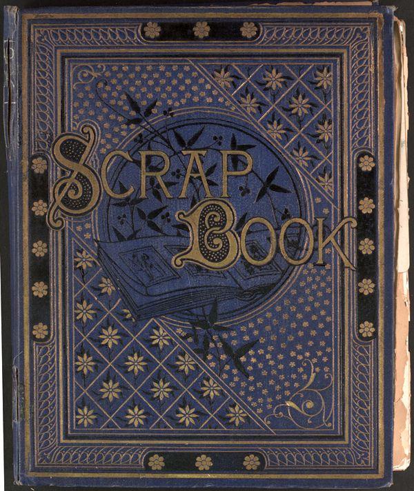 Vintage Scrapbook Cover ~ Best victorian scrapbooking images on pinterest