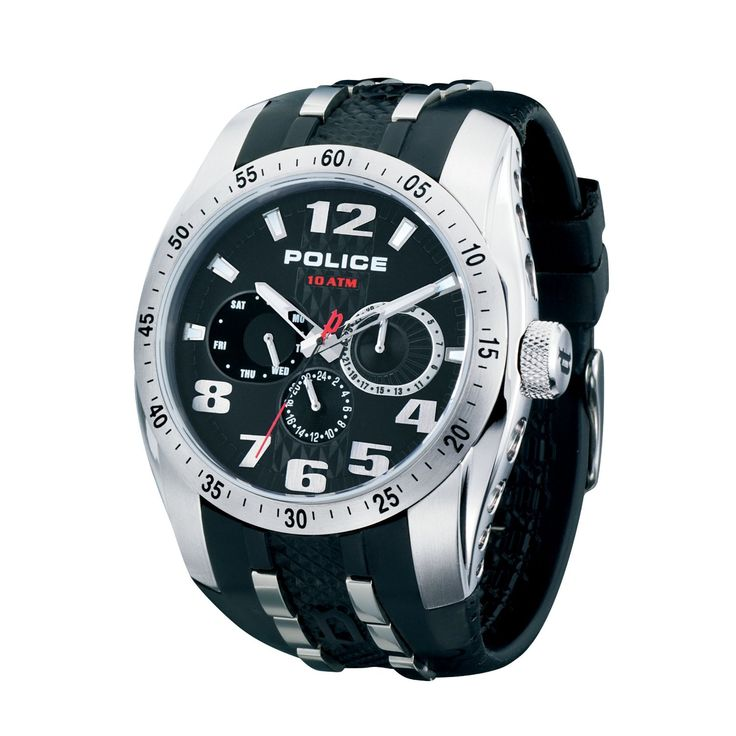 watches | POLICE Mens PL.12087JS/02 TopGear Chronograph Watch | Mens Watches