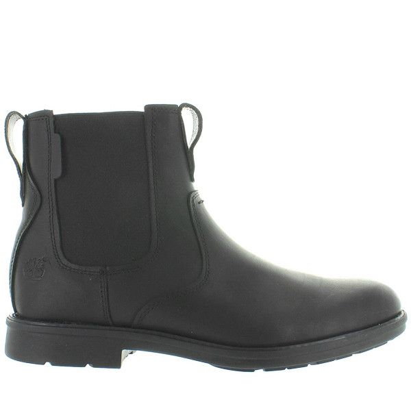 Timberland Earthkeepers Carter Notch - Black Leather Chelsea Boot