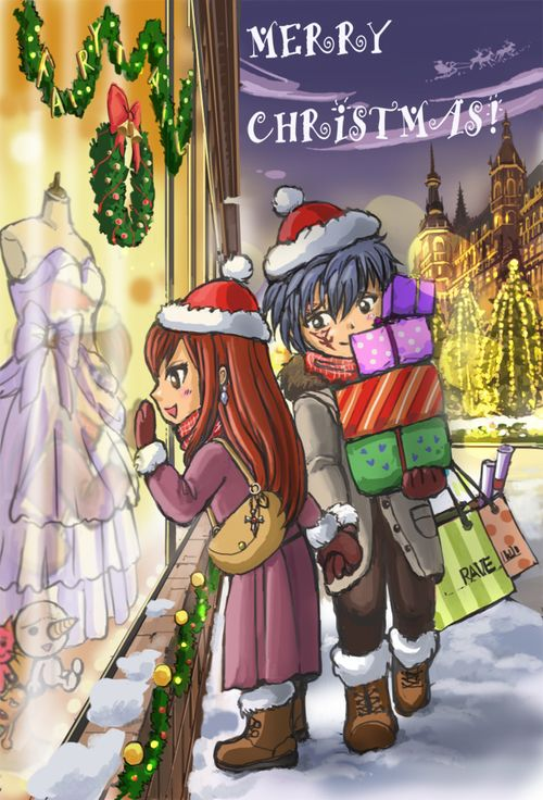 fairy tail christmas - Google Search