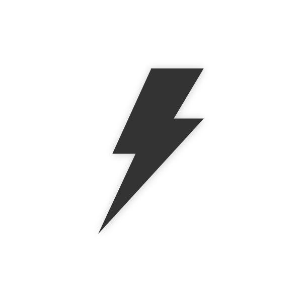 Vector illustration of a lightning bolt. More designs ...