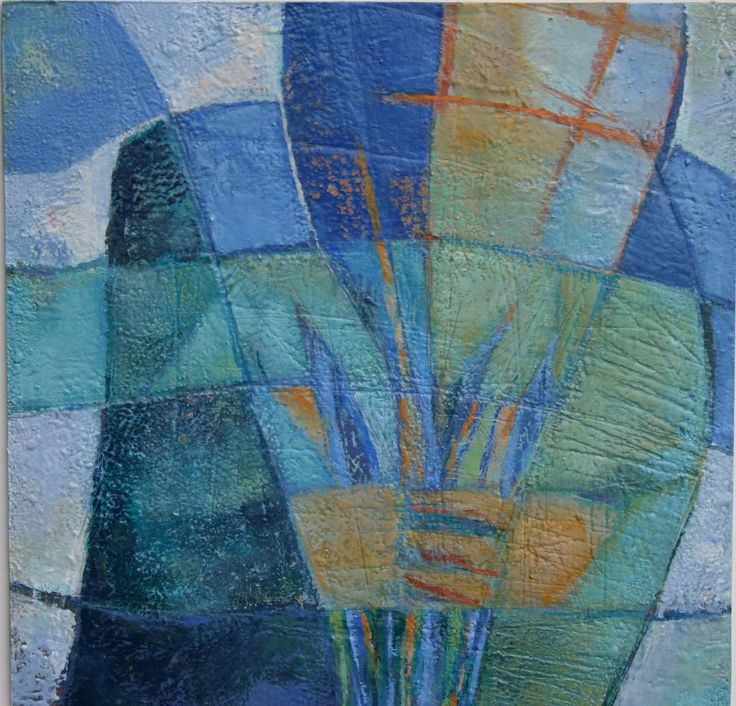 The Wait acrylic on woodpanel 35 x 35 cm 2004