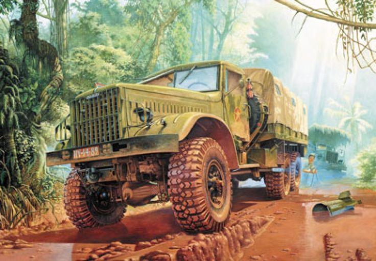 100%™ KrAZ 255   Vietnam Army