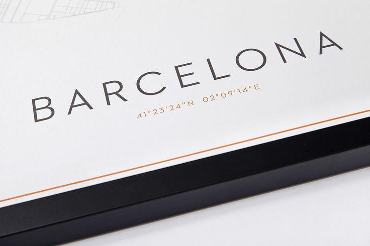 Arctic Avenue Prints - Barcelona