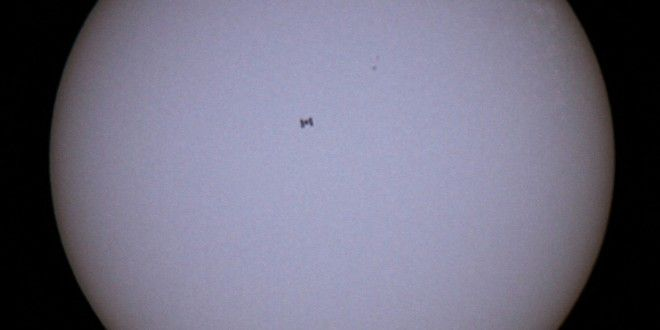 Comment photographier le passage de la Station Spatiale Internationale (ISS) devant de soleil - BonPlanPhoto