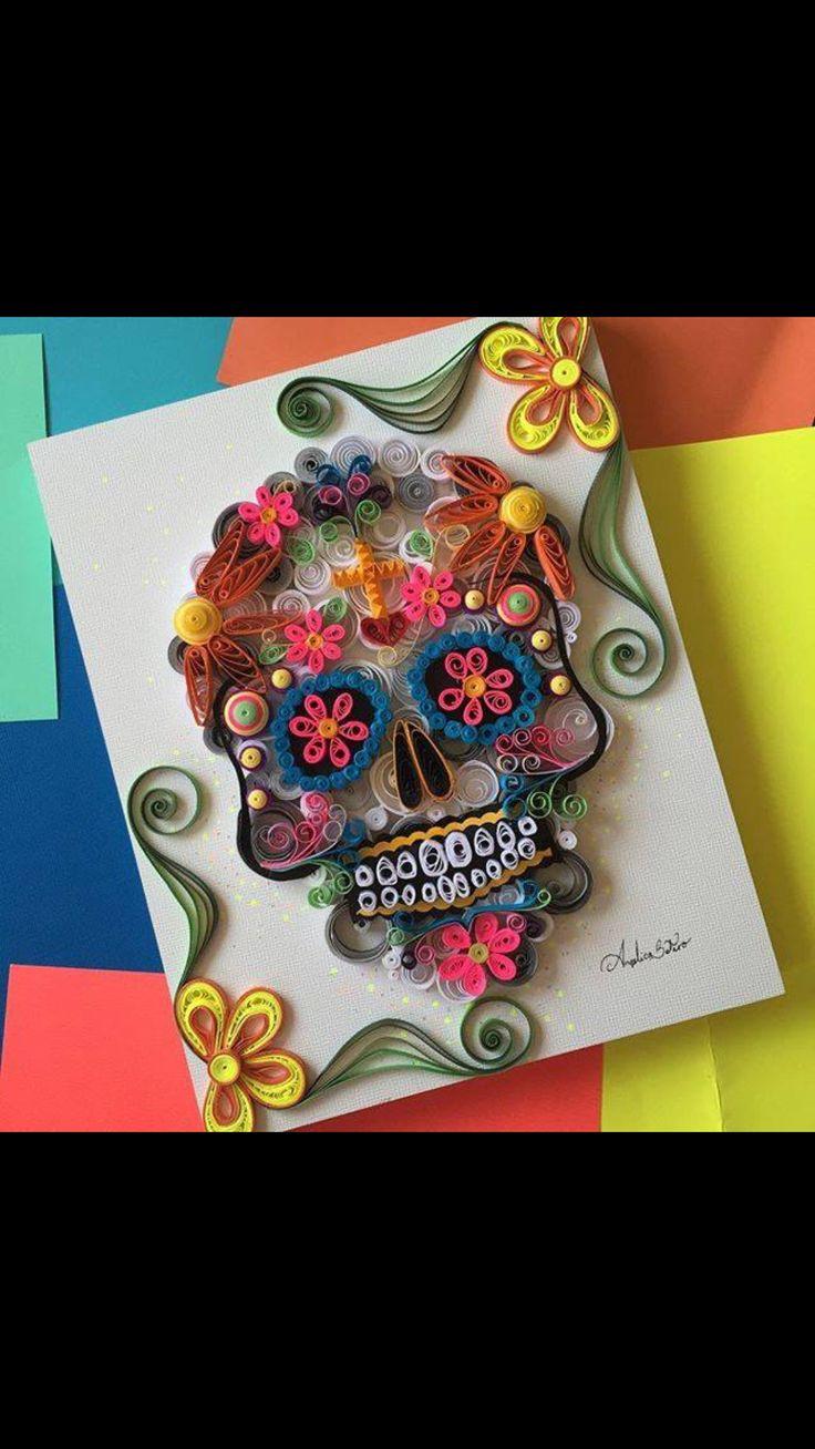 40 best images about t te de mort mexicaine on pinterest. Black Bedroom Furniture Sets. Home Design Ideas