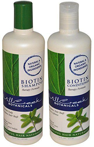 Mill Creek Biotin Shampoo and Conditioner For Hair Growth Bundle - http://essential-organic.com/mill-creek-biotin-shampoo-and-conditioner-for-hair-growth-bundle/