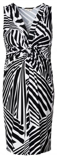 Γυναικείο Αμάνικο Φόρεμα Εγκυμοσύνης NOPPIES - μαύρο