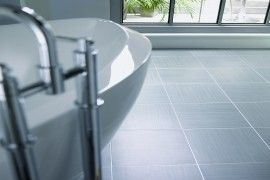 Amtico Tile - Linear Graphite from Irvine Flooring