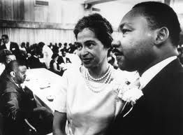 Rosa Parks and Martin Luther King.....Black history Month
