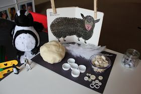 Lovely invitation to create. Like the idea behind this, and the children love this book