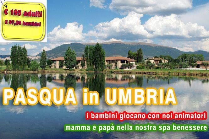 Pasqua 2014 in Umbria, Animazione con per Bambini zona Benessere per Mamma e Papà - http://www.italiaincampagna.com/week-end/pasqua-in-umbria.aspx