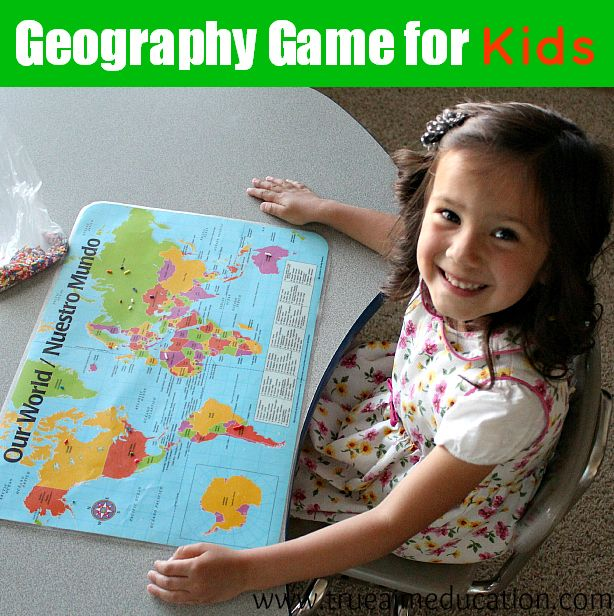Play this game to teach children to locate countries in just 5 minutes!  With Video