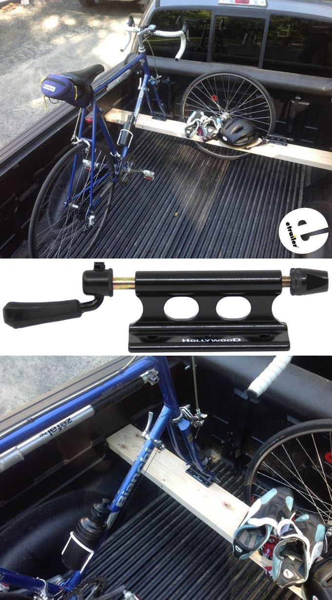 High Quality Bicycle Block Quick-release Fork MountTruck Bed Mount Rack Carrier