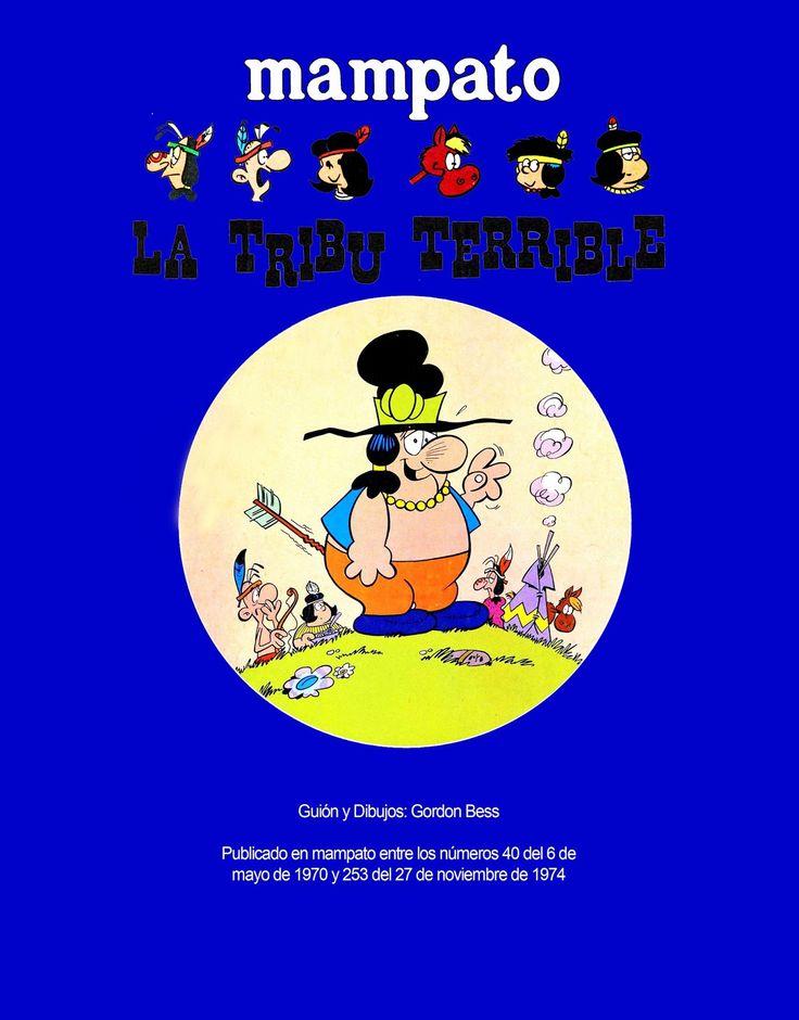 revista mampato comics y los 70s: La Tribu Terrible en mampato