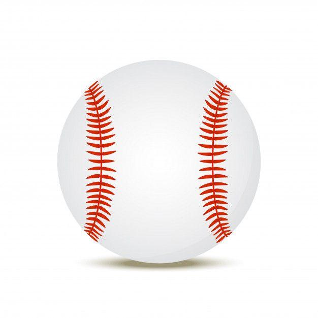 Pelota De Beisbol Realista 3d Deporte A Free Vector Freepik Freevector Fondo Circulo Deporte Dibujos Ani Pelota De Beisbol Deportes Dibujos Beisbol