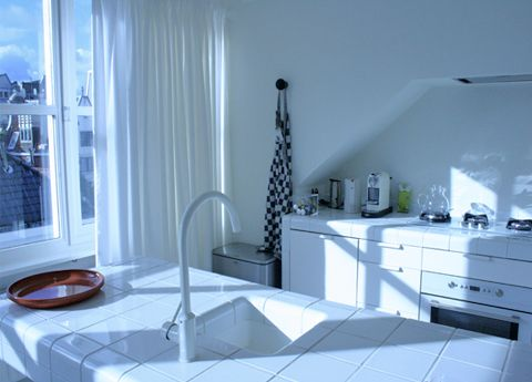Kitchen Droog Hotel Amsterdam #white