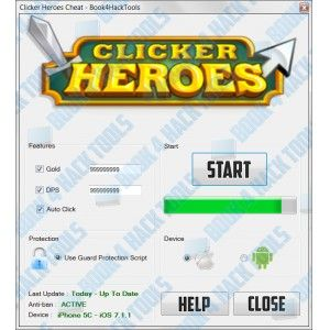 Clicker Heroes Hack Tool ~ 23 gp king