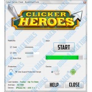 Clicker Heroes Hack Tool ~ 23 gp king