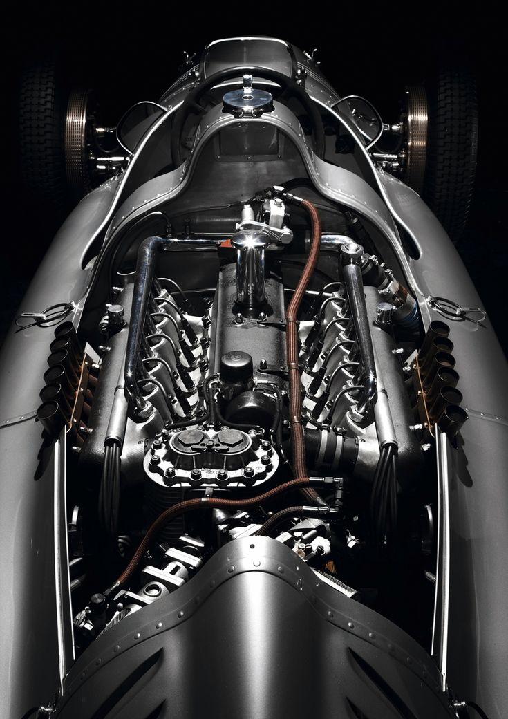 1938 Auto Union Type D, supercharged 3.0 litre V12