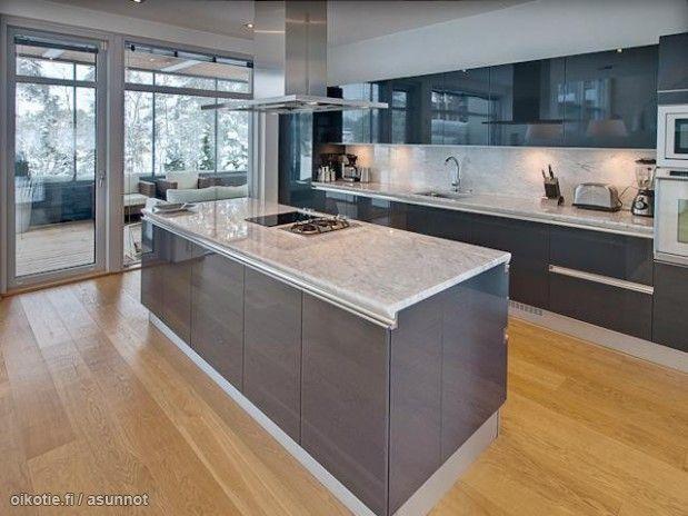 Myytävät asunnot, Vähänlahdentie, Espoo #oikotieasunnot #keittiö