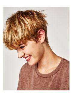 Messy Short Hairstyles for Pretty Girls - Page 4 of 4 - Fashion