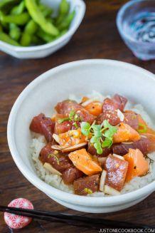 Poke Bowl | Easy Japanese Recipes at JustOneCookbook.com
