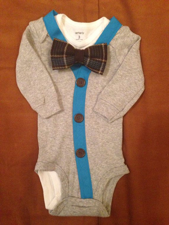Little Gentleman. Harold Baby Boy Clothes  Newborn  Outfit  by ChristolandCompany, $29.99