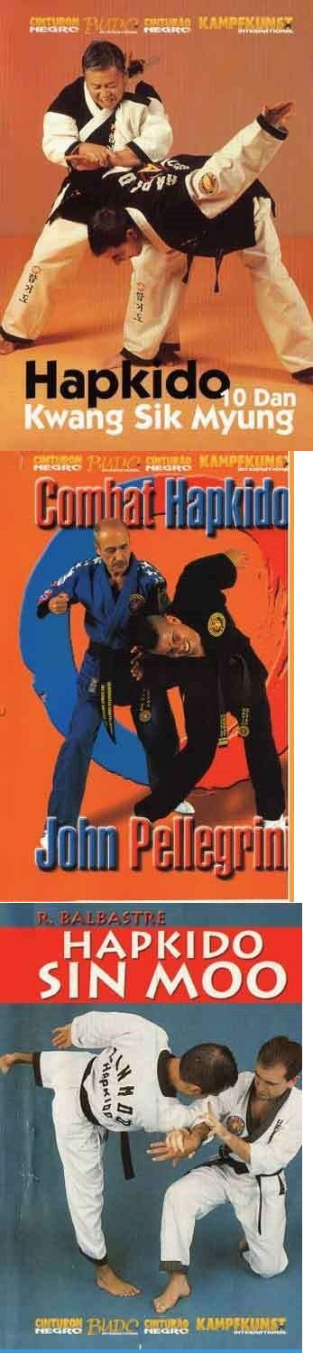 DVDs Videos and Books 73991: 3 Dvd Set Korean Hapkido Kwang Sik Myung Sin Moo John Pellegrin Martial Arts -> BUY IT NOW ONLY: $69.95 on eBay!