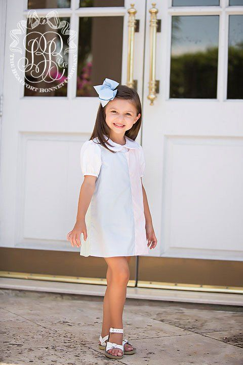 Emma Kate Color Block Dress - Preppy Pastels | The Beaufort Bonnet Company