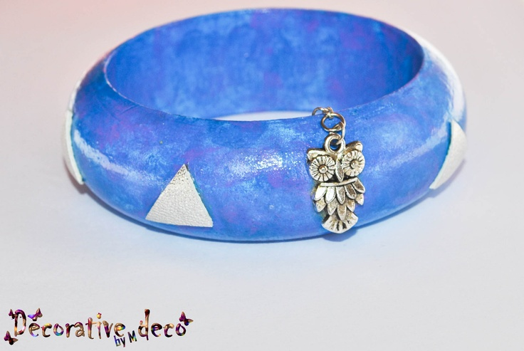 Bracelet - Blue owl