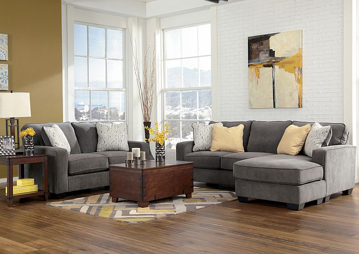 Furniture Stores Austin, Texas Hodan Marble Sofa Chaise & Loveseat