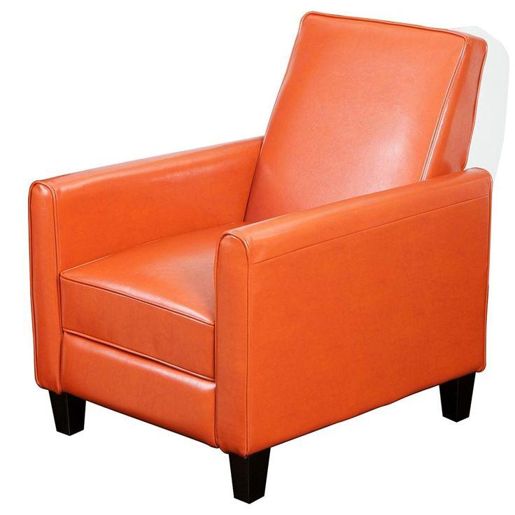 Orange Living Room Chair